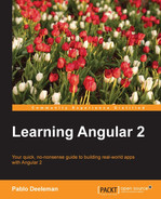 Cover of Learning Angular 2