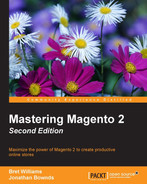 Cover of Mastering Magento 2 - Second Edition