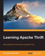 Cover of Learning Apache Thrift