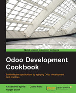 Cover of Odoo Development Cookbook