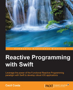 Cover of Reactive Programming with Swift