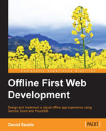 Book cover for Offline First Web Development