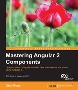 Cover of Mastering Angular 2 Components