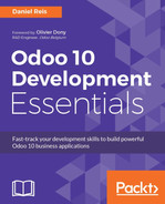 Cover of Odoo 10 Development Essentials