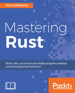 Cover of Mastering Rust