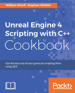 Cover of Unreal Engine 4 Scripting with C++ Cookbook
