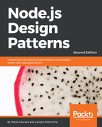Cover of Node.js Design Patterns - Second Edition