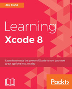Cover of Learning Xcode 8