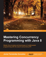 Cover of Mastering Concurrency Programming with Java 8