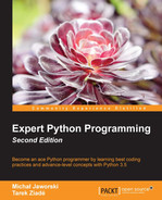 Cover of Expert Python Programming - Second Edition