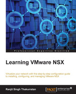 Cover of Learning VMware NSX