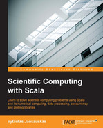 Cover of Scientific Computing with Scala
