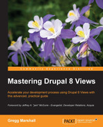 Cover of Mastering Drupal 8 Views