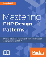 Cover of Mastering PHP Design Patterns