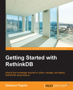 Cover of Getting Started with RethinkDB