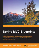 Cover of Spring MVC Blueprints
