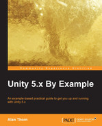 Cover of Unity 5.x By Example