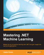 Cover of Mastering .NET Machine Learning