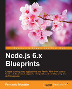 Cover of Node.js 6.x Blueprints