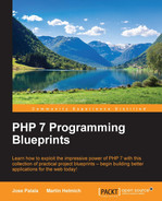 Cover of PHP 7 Programming Blueprints