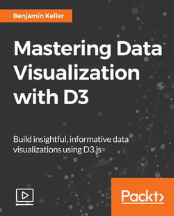 Mastering Data Visualization with D3.js