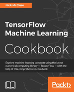 Cover of TensorFlow Machine Learning Cookbook