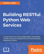 Cover of Building RESTful Python Web Services