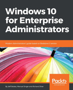 Cover of Windows 10 for Enterprise Administrators