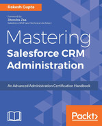 Cover of Mastering Salesforce CRM Administration