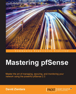 Cover of Mastering pfSense