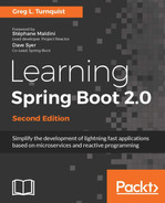 Cover of Learning Spring Boot 2.0 - Second Edition