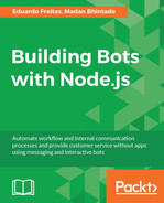 Cover of Building Bots with Node.js