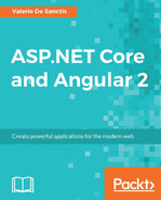 Cover of ASP.NET Core and Angular 2