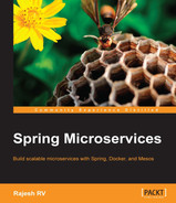 Cover of Spring Microservices