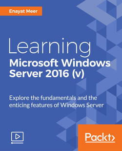 Learning Microsoft Windows Server 2016