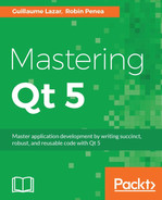 Cover of Mastering Qt 5