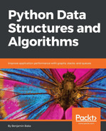 Cover of Python Data Structures and Algorithms