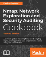 Cover of Nmap: Network Exploration and Security Auditing Cookbook - Second Edition