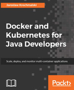 Cover of Docker and Kubernetes for Java Developers