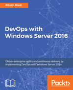 Cover of DevOps with Windows Server 2016