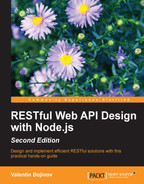 Cover of RESTful Web API Design with Node.js - Second Edition