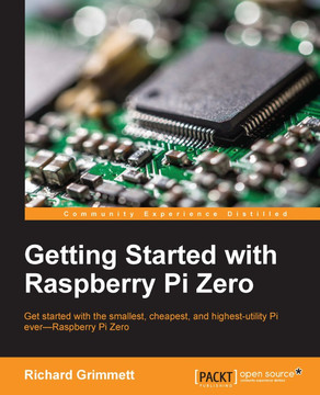 Connecting a webcam - Getting Started with Raspberry Pi Zero [Book]