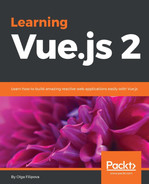 Cover of Learning Vue.js 2