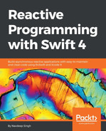 Cover of Reactive Programming with Swift 4