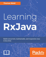 Cover of Learning RxJava