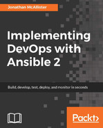 Cover of Implementing DevOps with Ansible 2