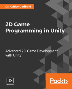 2D Game Programming in Unity