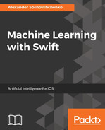 Cover of Machine Learning with Swift