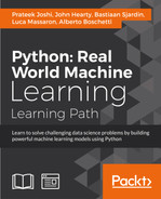Cover of Python: Real World Machine Learning