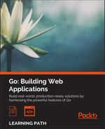 Cover of Go: Building Web Applications